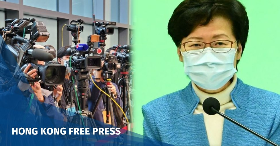 Carrie Lam refuses to say whether Hong Kong will bar permanent residents from journalism, as Taiwan opens doors | Hong Kong Free Press HKFP