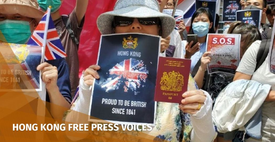 Fight for Freedom. Stand with Hong Kong BNO