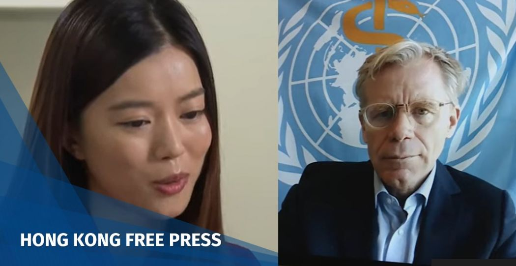 Video: Top WHO doctor Bruce Aylward pretends not to hear journalist's Taiwan questions, ends video call | Hong Kong Free Press HKFP