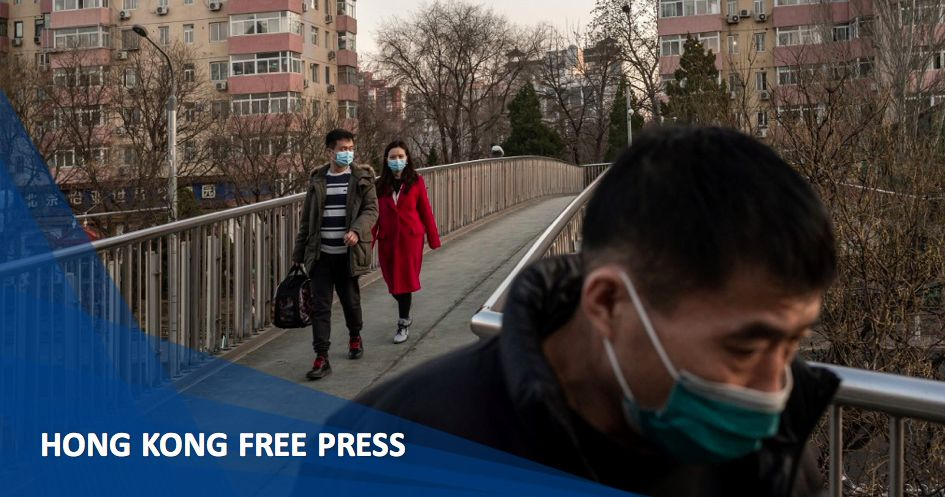 China coronavirus Beijing masks