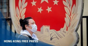 China coronavirus face mask