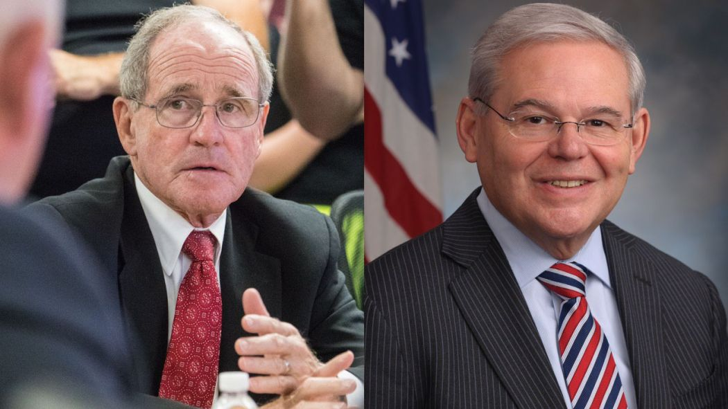 US Senators Jim Risch and Bob Menendez