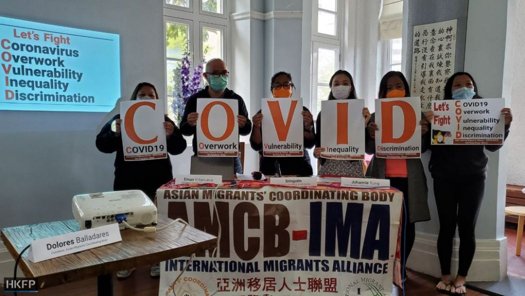online survey situation of migrant domestic workers asian migrants coordinating body mission for migrant workers