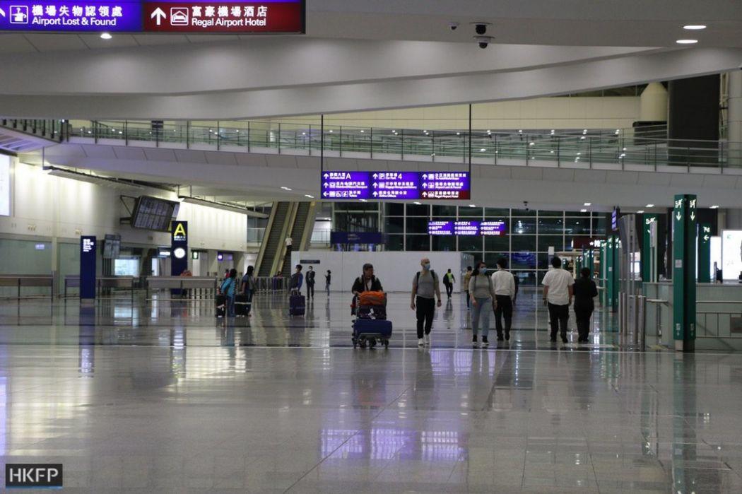 Coronavirus perintah karantina bandara internasional hong kong