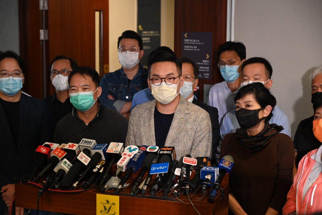 Wu Chi-wai Alvin Yeung Claudia Mo pan democrats