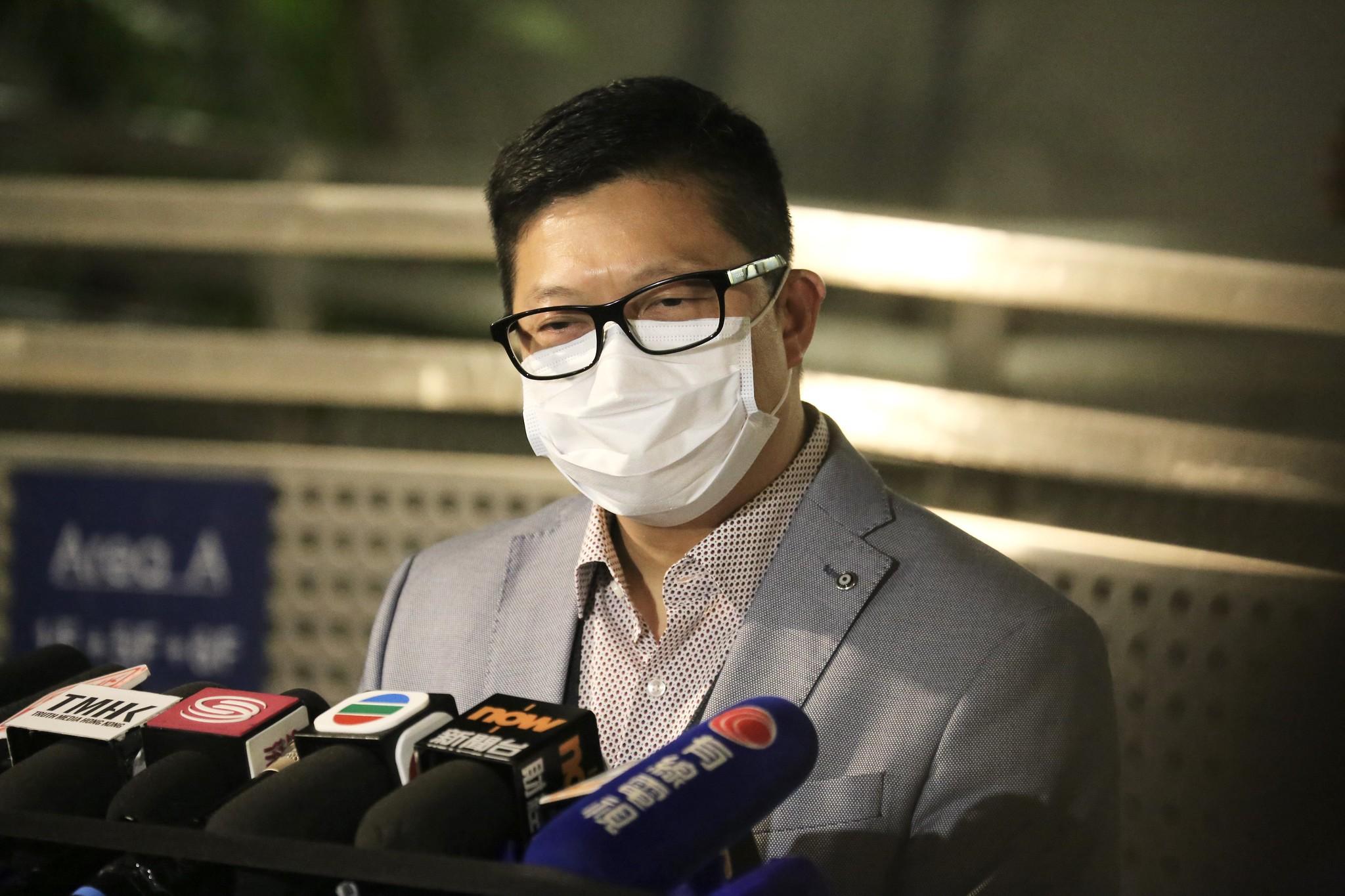 Hong Kong police chief Chris Tang