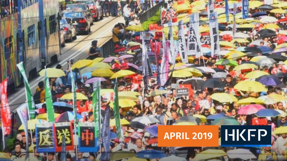 umbrella extradition protest rally hong kong china (2)