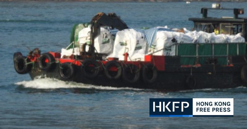 smuggled meat hong kong sea