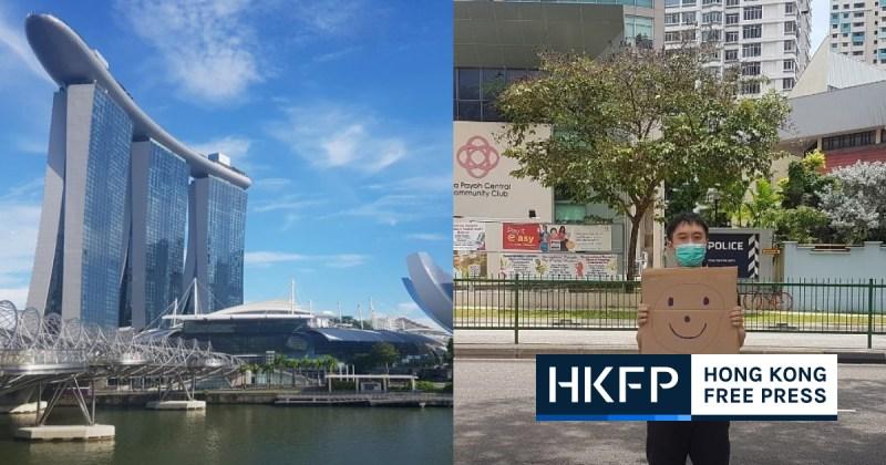 Singapore activist picks jail over fine for criticising courts