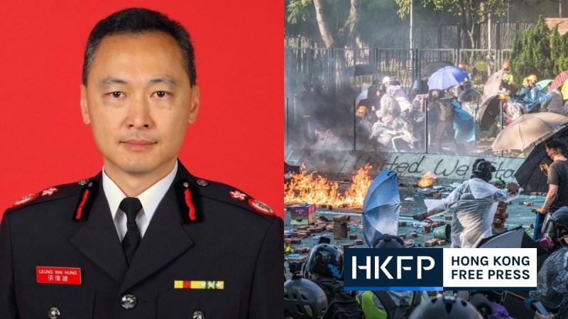 Fire Services Department Joseph Leung