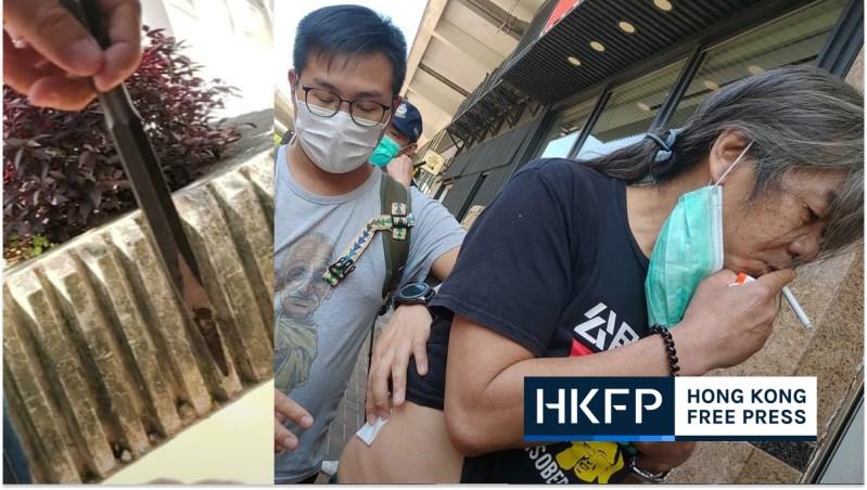 leung kwok hung assault liaison office dennis kwok