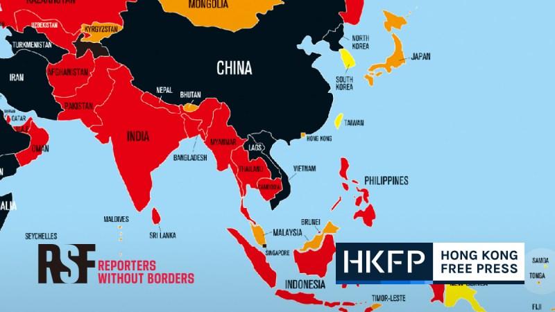 press freedom index 2020