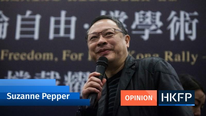 Opinion Suzanne Pepper Benny Tai