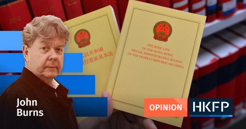 john burns constitution matter