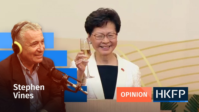 Stephen Vines Carrie Lam