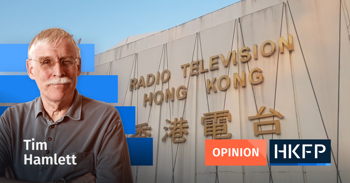 Official's complaint about RTHK is worthy of Trump tim hamlett