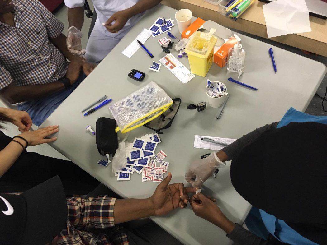 Caregivers healthcheck for RUN asylum seekers