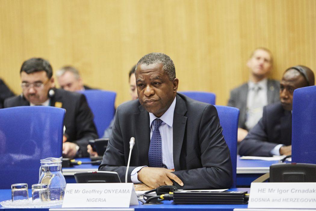 Nigeria Foreign Minister Geoffrey Onyeama.