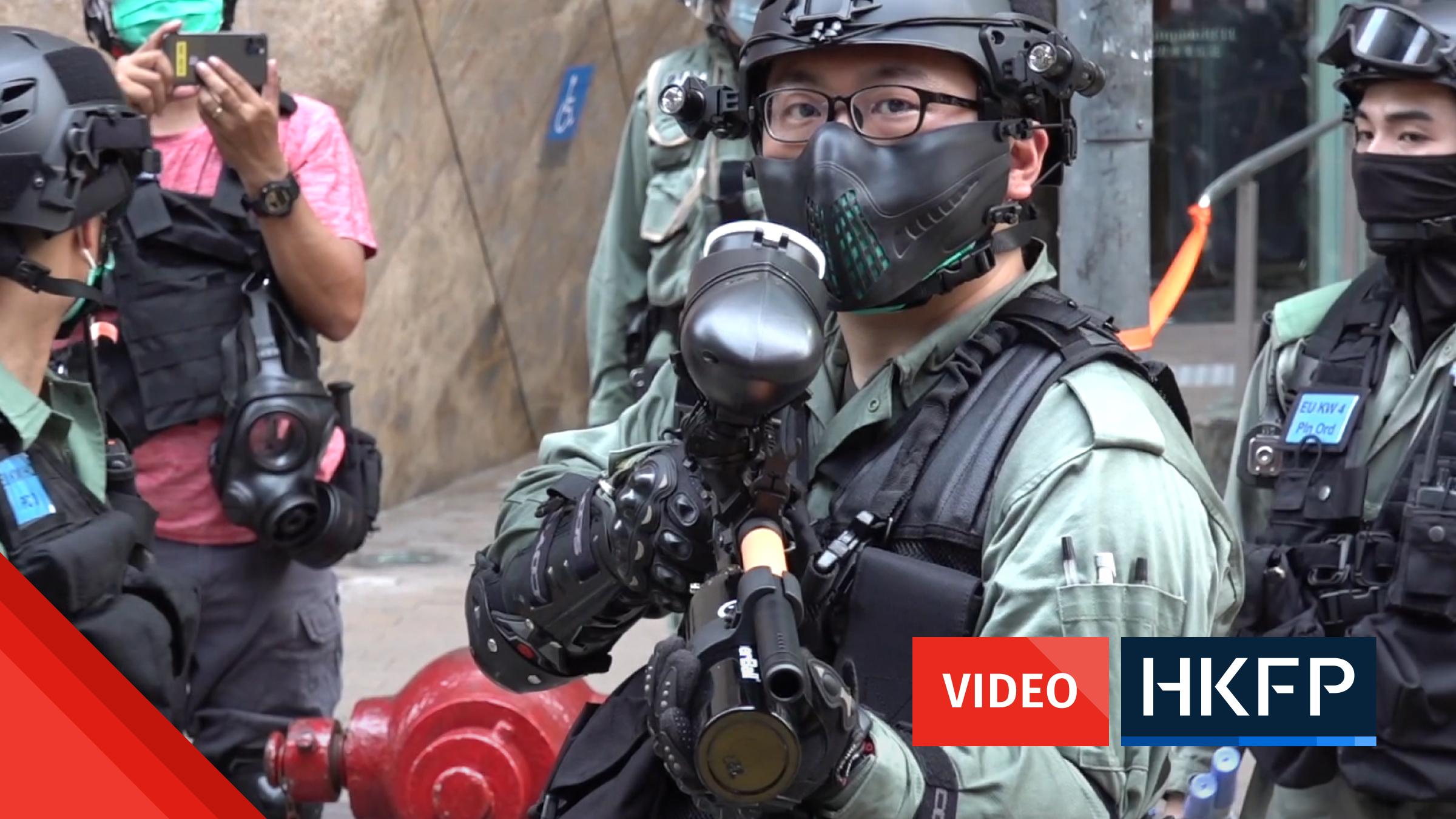 ryan lai video hong kong arrests