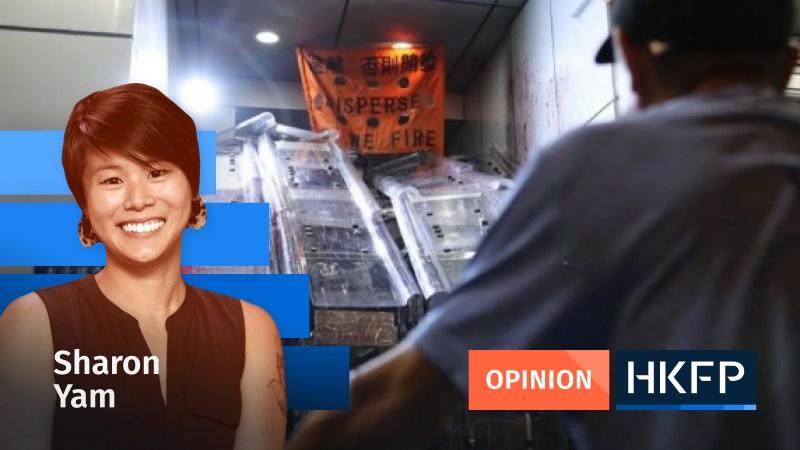 sharon yam hong kong black lives matter