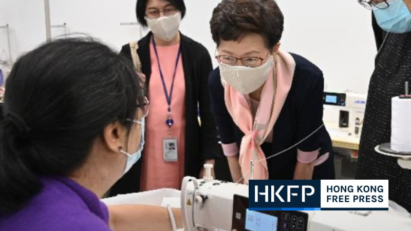 carrie lam mask
