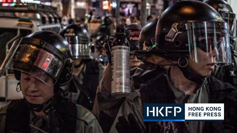 Police torture hong kong