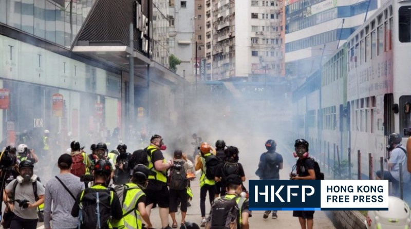 hong kong police national security law