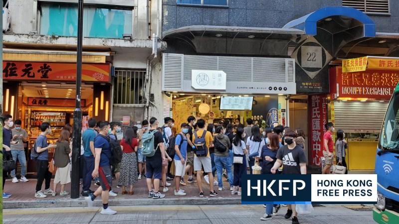 "hongkongers' golden week yellow shop queue ""May 1 2020"""