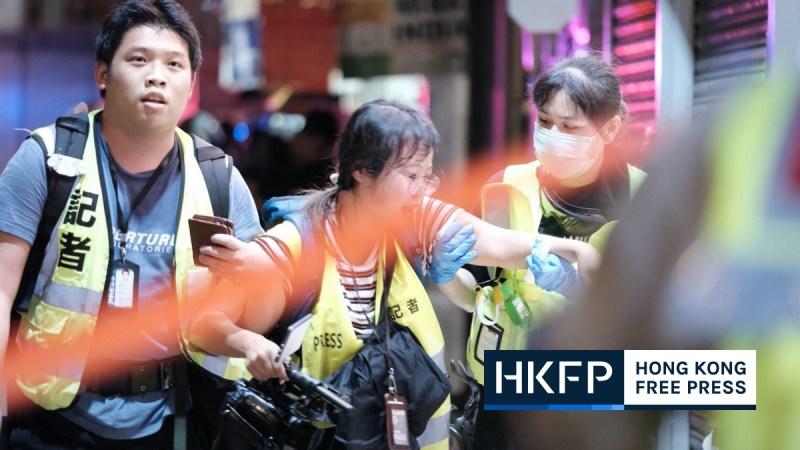 HKJA Mong Kok police