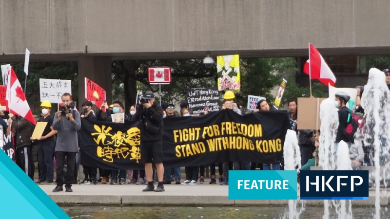 hong kong protesters fled to canada heidi lee