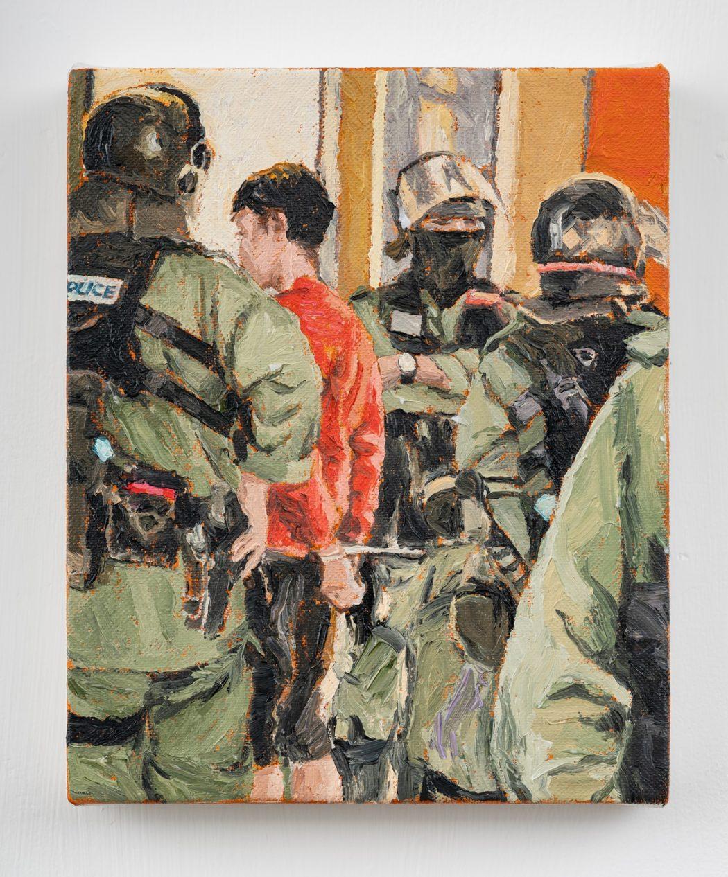 HKFP Lens Chow Chun-fai police arrest