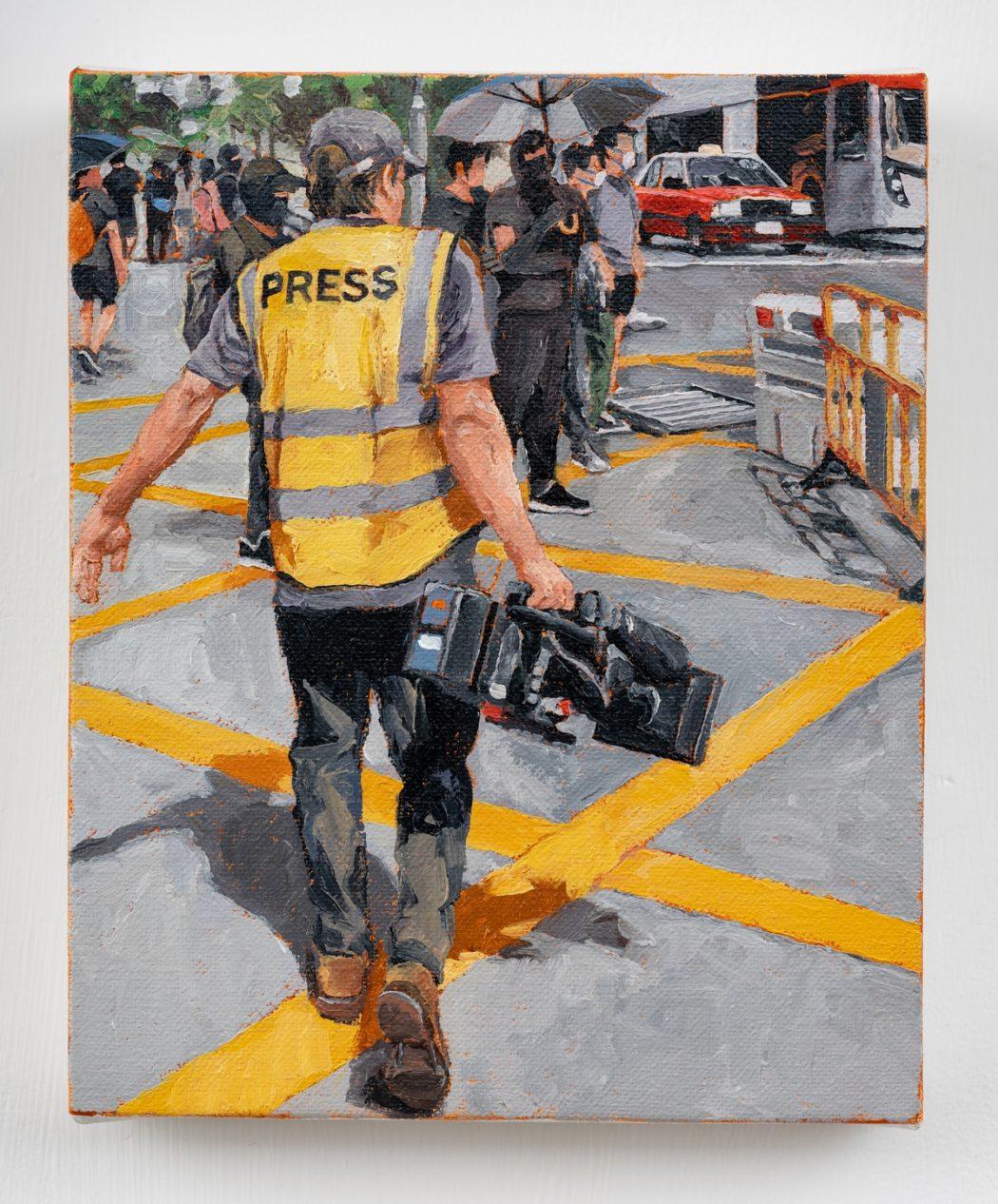 HKFP Lens Chow Chun-fai journalist protest