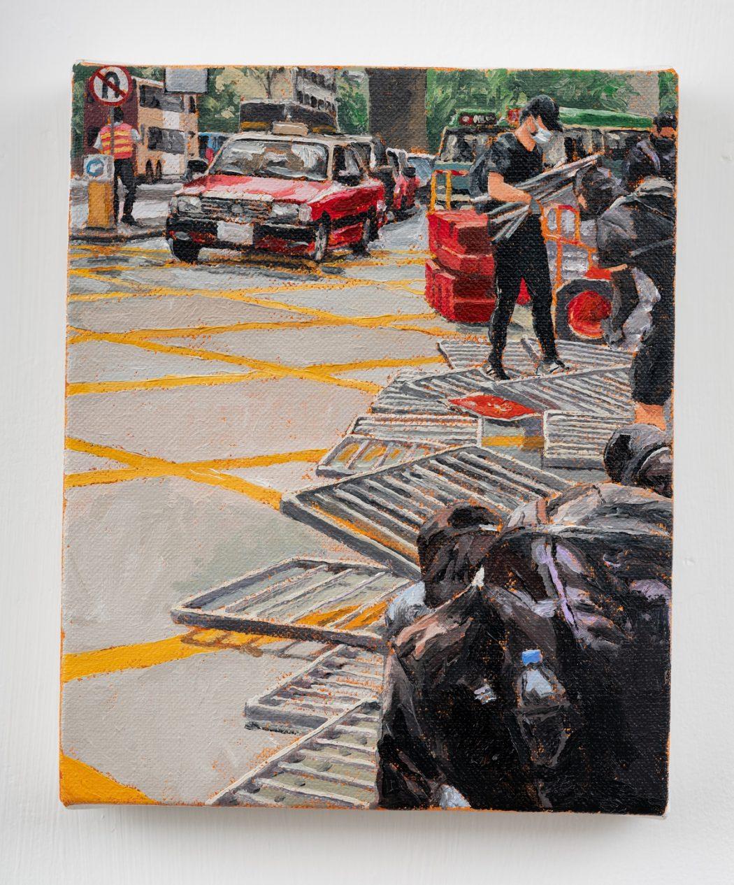 HKFP Lens Chow Chun-fai road blockage