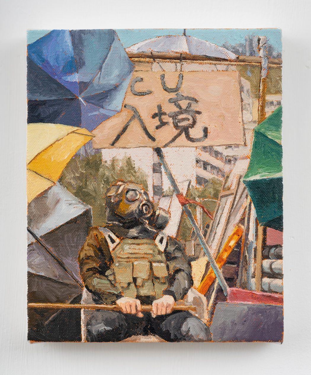 HKFP Lens Chow Chun-fai protest Chinese University