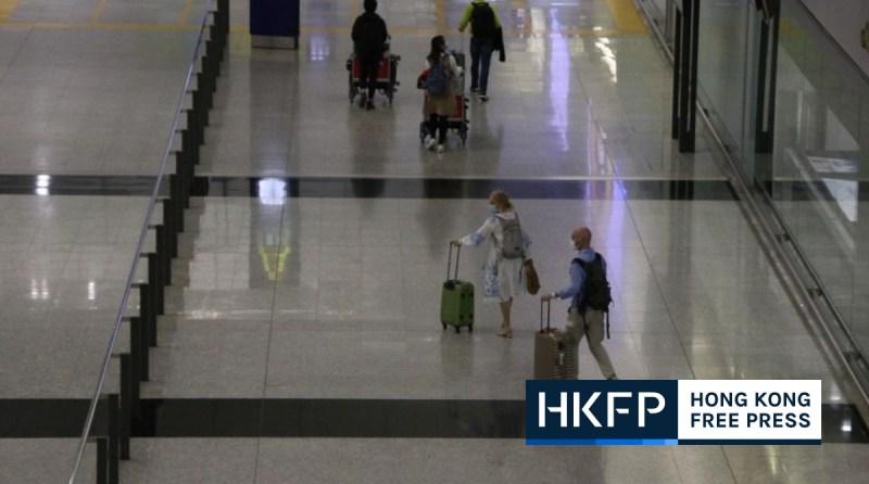 hong kong airport resume transit services