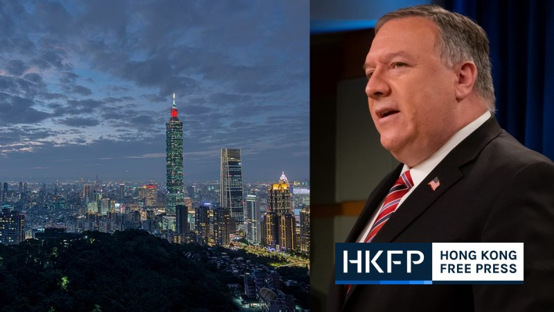 mike pompeo taiwan