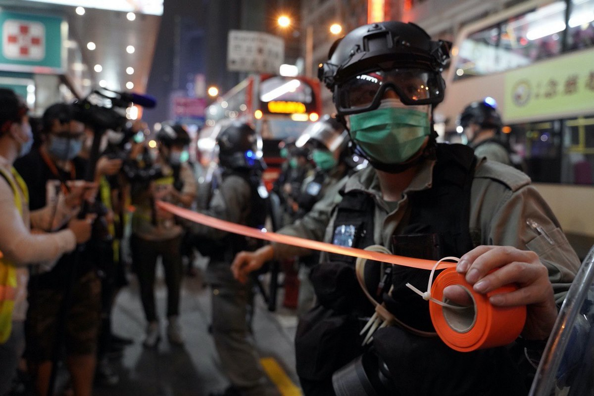 """""""May 13 2020"""" Carrie Lam birthday Mong Kok protest riot police"""