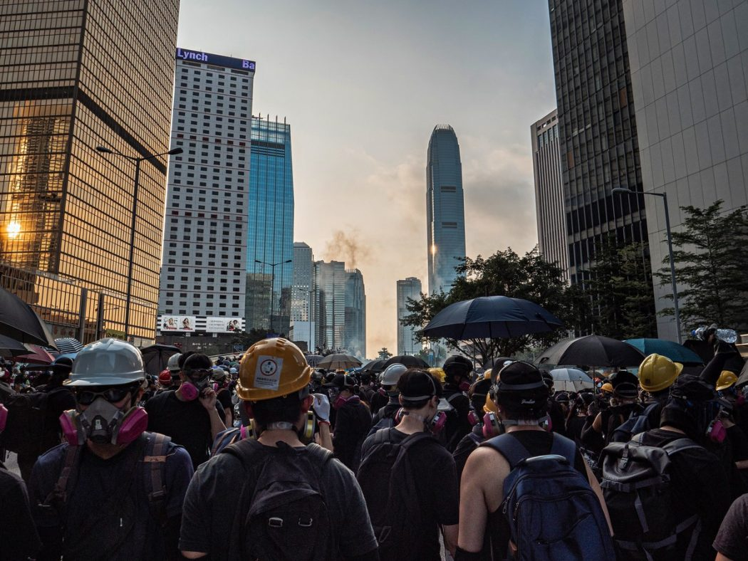 extradition protest September 15, 2019