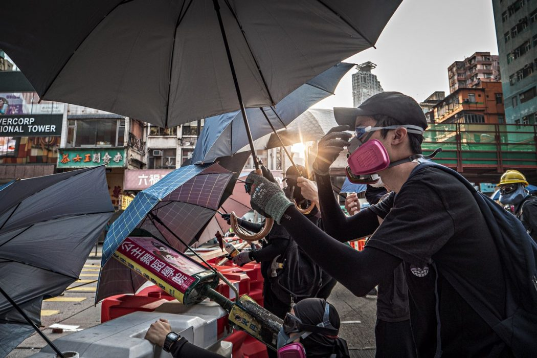 protest frontline October 20, 2019