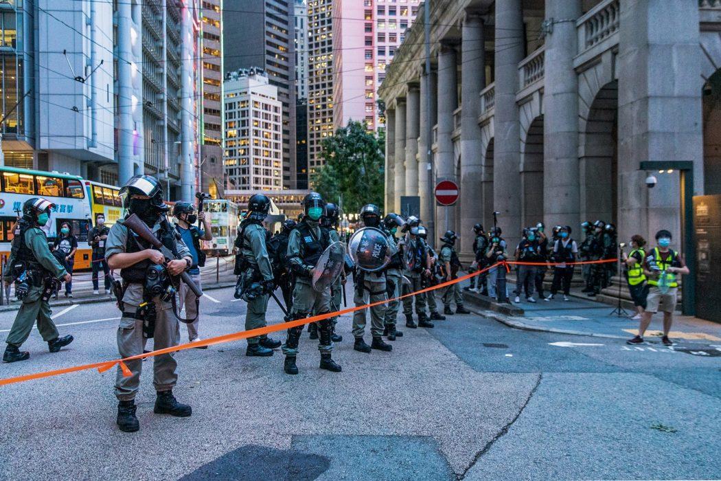 June 9 2020 protest police Central