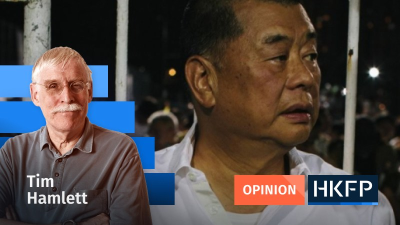 Article - Opinion - Tim Hamlett - Jimmy Lai and corona