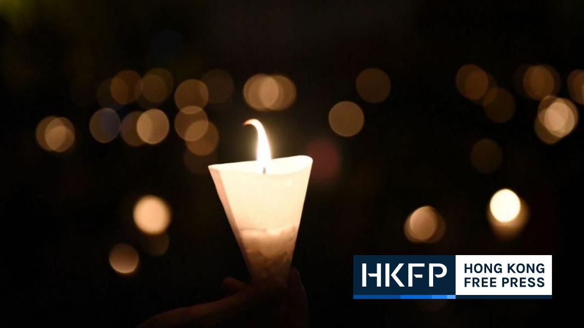 Hong Kong tiananmen square massacre vigil