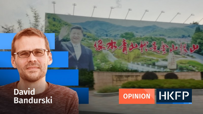 Opinion - David Bandurski xi jinping two mountains theory