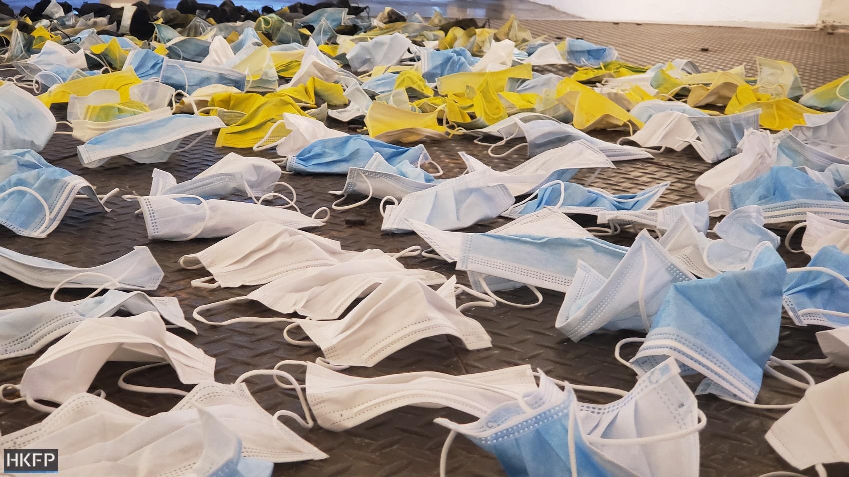 masks covid19 covid coronavirus medical waste ppe
