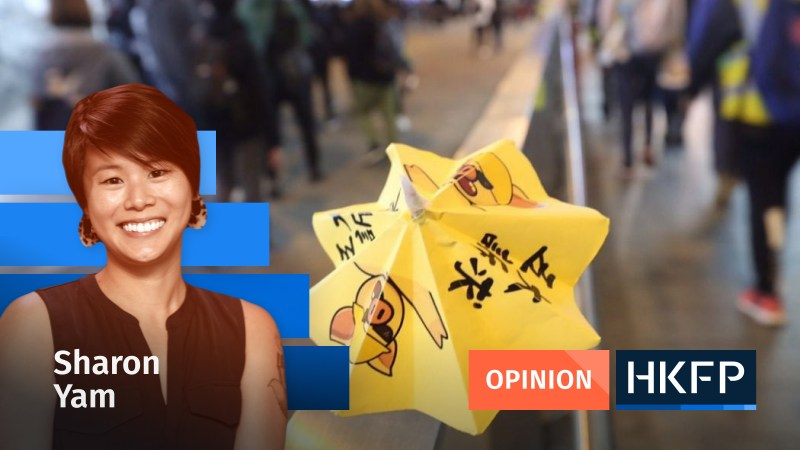 Sharon Yam Hong Kong pro-democracy