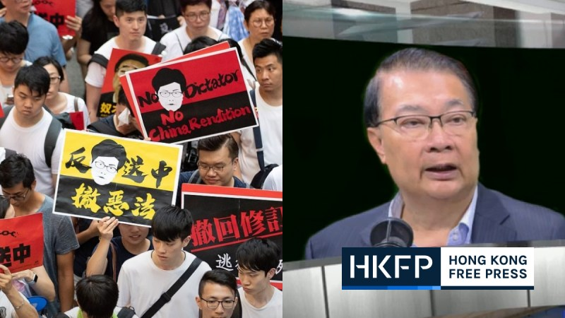 Tam Yiu-chung extradition