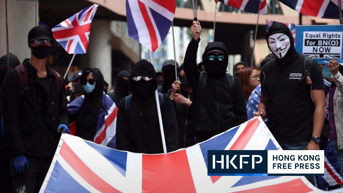 UK Hong Kong protest