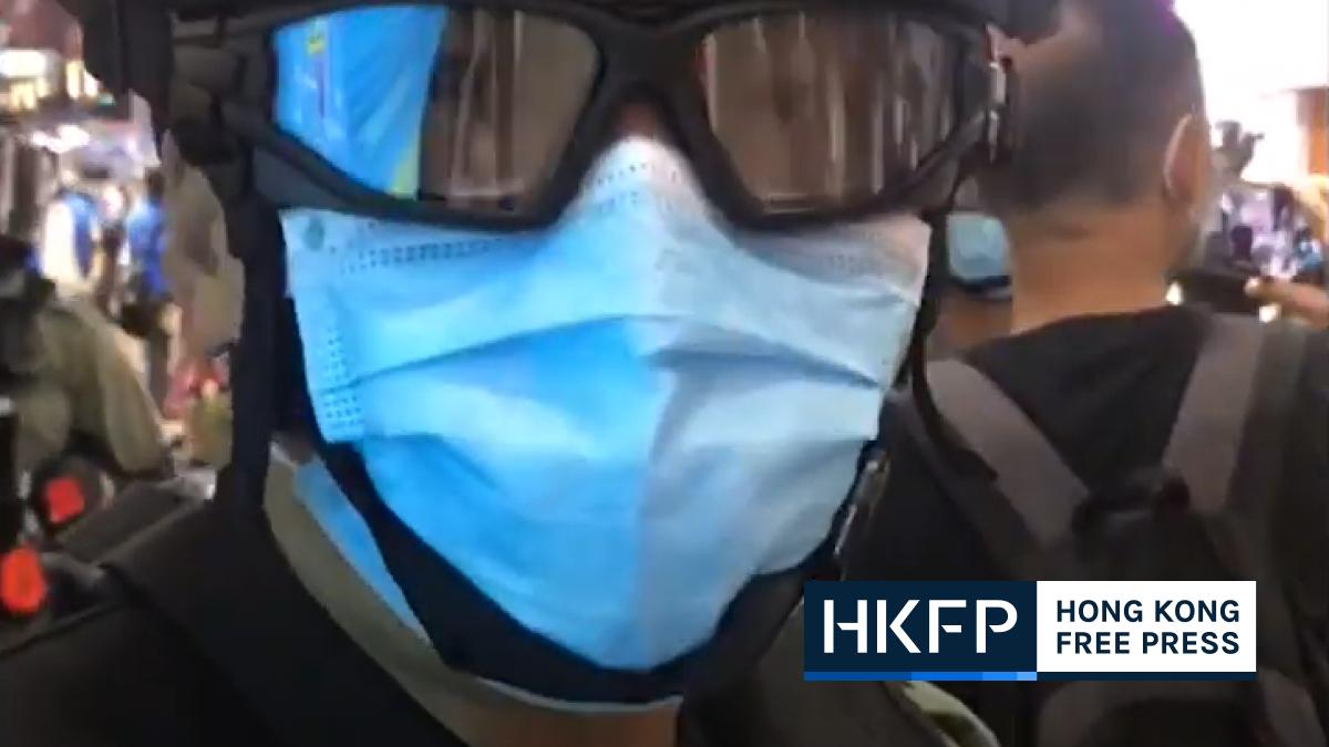 hong kong police black lives matters