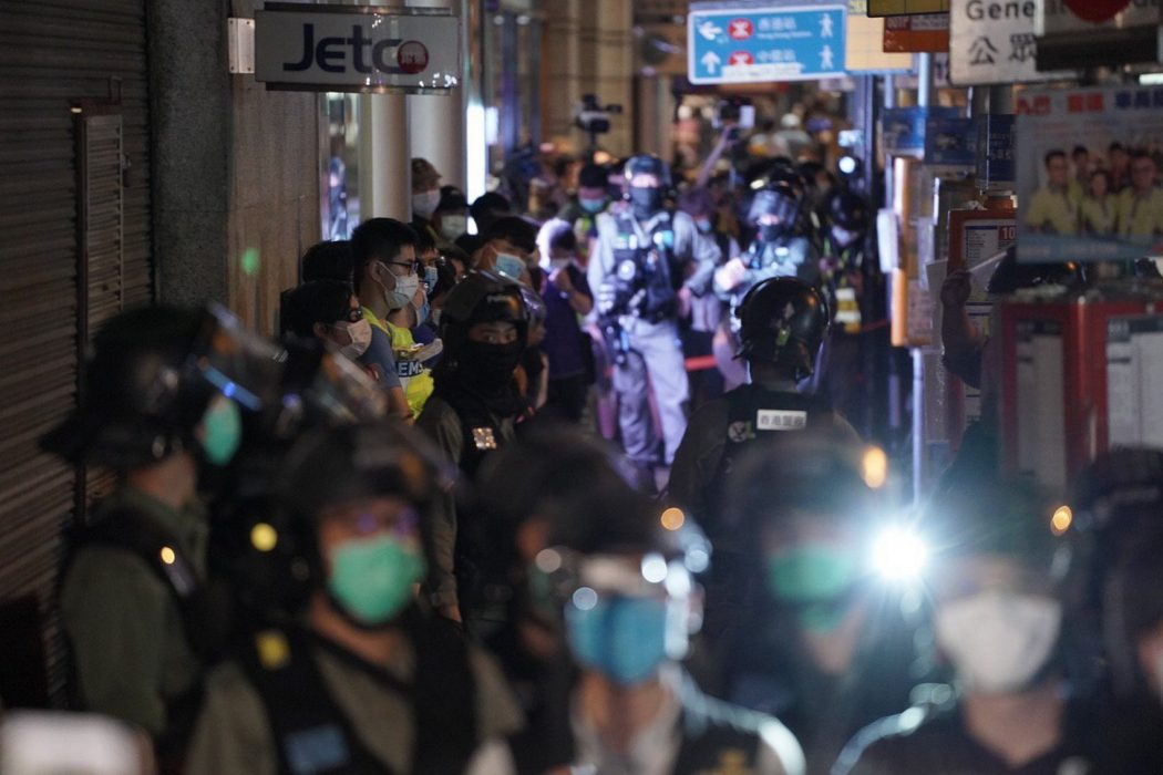 June 9 2020 march police Central arrest