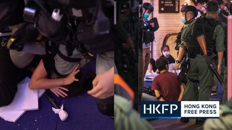 police knee-on-neck